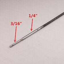 """1/4"""" à 3/16"""" câble flex avec acier inoxydable stub shaft 430mm pour rc bateau #1373"""
