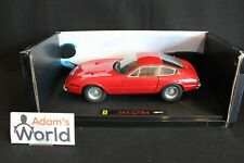 "Hot Wheels Elite Ferrari 365 GTB4 ""Daytona"" 1:18 red (PJBB)"