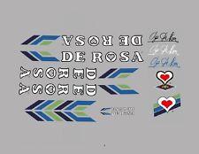 DE Rosa Bicicletta Decalcomanie, trasferimenti, ADESIVI n. 12