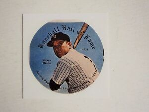 """Mickey Mantle Yankees  RARE 1981 Pin Proof 3"""" MINT - FLASH SALE"""