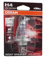 H4 OSRAM Night Breaker Unlimited Einzelblister ein Stück 64193NBU-01B