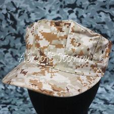 Airsoft Paintball Gear MIL-SPEC Marine Cadet Patrol Cap Hat Desert Digital Camo