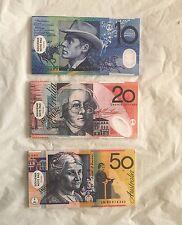 ,$10,$20,$50 AUSTRALIAN MONEY NOTE SOUVENIR MAGNETIC NOTEPAD
