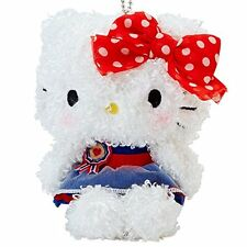 Hello Kitty SANRIO Original Fluffy Mascot Cute 10 × 10 × 15cm NEW F/S