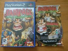 Rampage: Total Destruction PS2 Playstation 2 Complete boxed with manual PAL UK