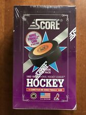 1992-93 Score Hockey Box FACTORY SEALED USA EDITION