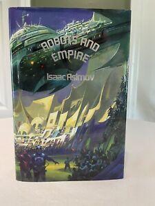 Isaac Asimov ROBOTS AND EMPIRE Limited Signed 1st Edition 1985 Phantasia Press