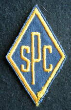 S P C EMBROIDERED SEW ON ONLY PATCH INITIAL PERSONAL COMPANY ADVERTISING