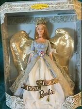 """MATTEL BARBIE """"ANGEL OF PEACE"""" NIB NRFB  1999 TIMELESS SENTIMENTS COLLECTION"""
