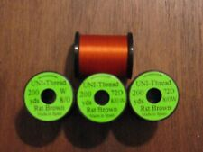 Fly Tying Uni-Thread 8/0 - 200 yd. Rust Brown