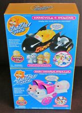 Lot of 2 Zhu Zhu Pets Hamcycle With Sidecar And Baby Hamster Stroller New
