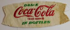 Vtg 1950's Coca Cola Fish Tail Advertising Patch