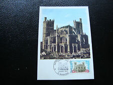 FRANCE -  carte 1er jour 8/4/1972 (cathedrale st-just narbonne) (cy47) french