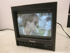 "Ikegami TM9-1 Color Video Monitor 9"" Inch Professional Studio CRT Unit"