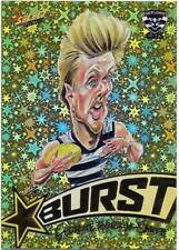 2018 Footy Stars Starburst Caricature YELLOW (SBY25) George HORLIN-SMITH Geelong