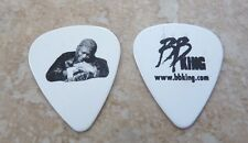 BB King King Of The Blues Music Hugging Lucille White Double Sided Guitar Pick