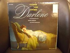 Darlene Come On Over Nick Perito LP Epic Records VG+ Jazz Vocal vinyl