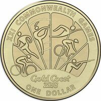 2018 Australia Commemorative $1 One Dollar coin UNC Type B