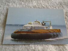 Vintage postcard ISLE OF WIGHT HOVERCRAFT HAMPSHIRE