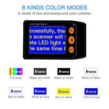 "3.5"" Digital 2-25X Magnifier Portable Handheld Reading Aid For Low Vision Elder"