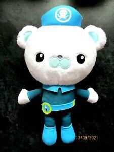 "Octonauts soft toy plush CAPTAIN BARNACLES POLAR BEAR Cuddly 9.5"" Fisher-Price"