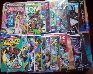 Lot of 27 Science Fiction Comics, Rom, Star Wars, Starslayer, Tek World