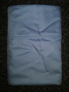 New Charisma 2 Piece King Size Pillowcase Set Fog Blue 100% Egyptian Cotton !!!!