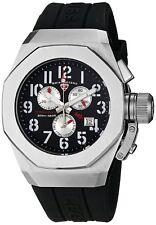 Swiss Legend 10542-01 Men's Trimix Diver Chronograph Watch Swiss Quartz Black
