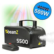Beamz S 500 Smoke Fog Effect Machine With Fluid Halloween DJ Disco Party
