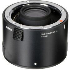Sigma TC-2001 2x Tele-converter for Canon fit (UK Stock) BNIB