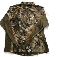 Scentlok Men's Savanna Attack 1/4 Zip Shirt (Medium M Realtree Xtra) Camo