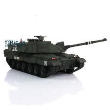 Us Stock Henglong 1/16 Challenger Ii Rc Tank Model W/ Metal Tracks Wheels Smoke