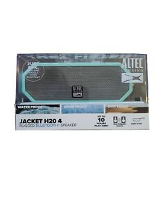 ALTEC LANSING JACKET H20 4 Rugged Bluetooth Speaker Teal