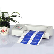 More details for new 220v automatic business card cutter binding machine electric cutter 90*54mm