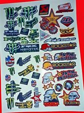 LOGOS MIXED SET 2 STICKERS DECALS WILL FIT MUST 1/8/10/12th RC CARS TAMIYA HPI