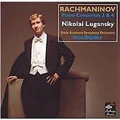 Rachmaninov: Piano Concertos 3 & 4, Nikolai Lugansky, Excellent CD