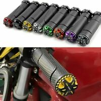 Motorcycle Throttle CNC Aluminum Alloy Rotatable Handlebar Hand Grips 7/8'' 22mm