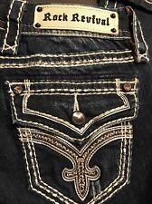 Rock Revival Clover Capri Women's Jeans NWT Size 25 $149