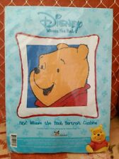 Winnie the Pooh Portrait Cross Stitch Cushion