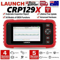 LAUNCH X431 CRP129X Pro OBD2 II Scanner Engine ABS SRS AT Oil Reset EPB SAS TPMS