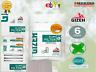 Gizeh Slim 6 mm Filtre Al Mentolo Filtro Box 10 Bustine Da 120 Filtri