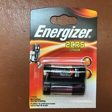 Energizer 2CR5 6V Lithium Photo Battery DL245 245 LONGEST EXPIRY DATE