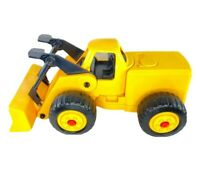 Vintage Little Tikes Large Yellow Front End Loader Bulldozer USA 20 Inch