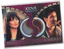 "Xena Warrior - Dangerous Liaisons - DC8 ""Xena & Autolycus"" Dual Costume Card"