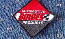 Vintage Bowes Automotive Products Racing Uniform Patch