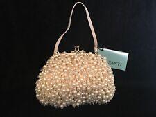 *NEW* Santi Silk Satin Clutch, Evening purse, Handbag, Pocket book, Retail: $200