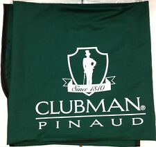 Clubman Pinaud - Barber Cape Green With Logo - #66364