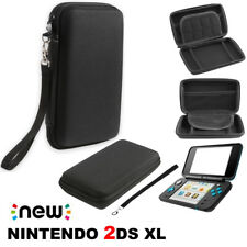 For New Nintendo 2DS XL/LL Carrying Case Protective Pouch Bag Storage Organizer