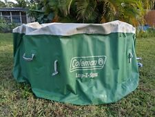 Coleman Lay-Z-Spa 4-6 Person Inflatable TUB & COVER ONLY, NO PUMP Hot Tub Spa