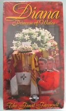 Diana Princess of Wales the Final Farewell Factory Sealed VHS Tape ABC News